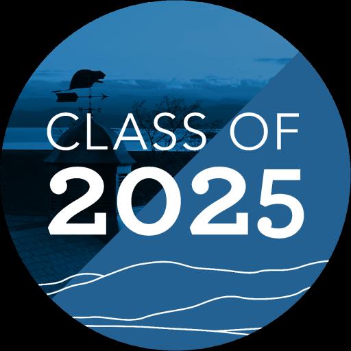 Champlain College Class of 2025 Logo