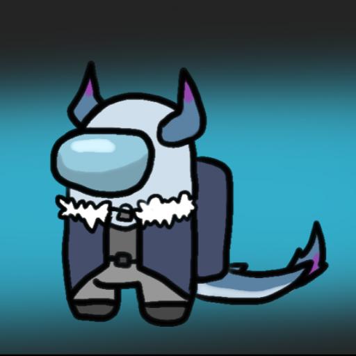 Logo for pewsikelasagna's server (for among us)