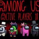 AmongUsActivePlayers18 Logo