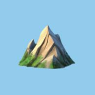 Logo for The Mountains