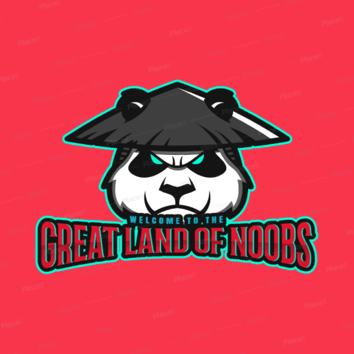 Logo for Land of The Greatest Noobs