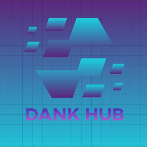 Logo for Dank Hub