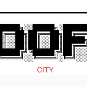 Logo for OOF CITY