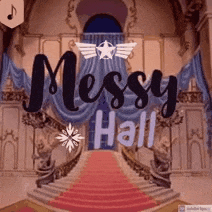 Logo for Messy Hall