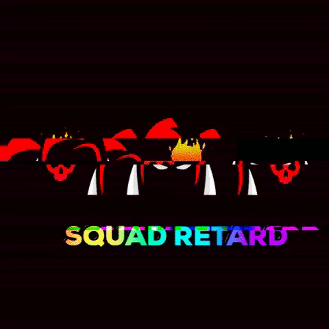 Logo for SQUAD RETARD (SQR)