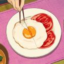⁀➷꒰ 🐣 ꒱ؘ・Eggy Lounge・'nın İkonu