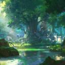 ₊˚꒰🎍🦉 Bamboo Treehouse •