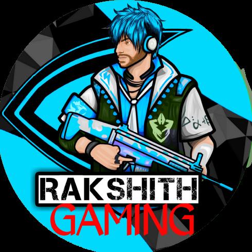 Logo for RAKSHITH GAMING