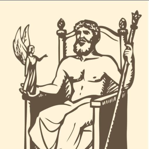 Logo for Becoming Zeus