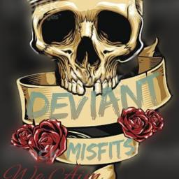 Deviant misfits Logo